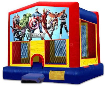 MODULE 2 IN 1 AVENGERS JUMPER (basketball hoop included)